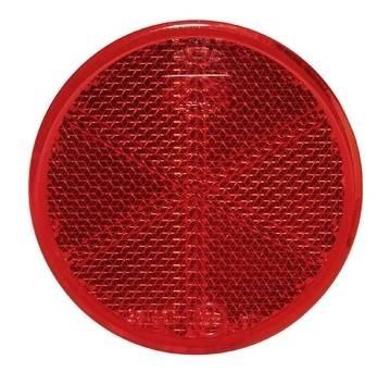 Prizma piros öntapadós 6cm