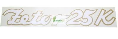 Matrica Zetor 25K